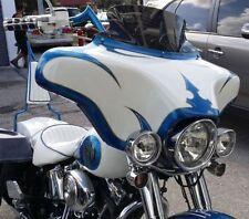 6x9 Harley Touring Davidson Batwing Fairing Softail Fatboy Heritage 96-13