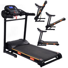 Goplus Folding Motorized Treadmill - 1000W