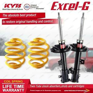 Front KYB EXCEL-G Shock Absorbers Lowered King Springs for NISSAN Murano Z50 3.5