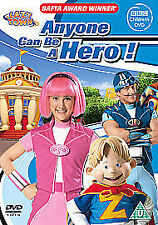 Lazytown - Anyone Can Be A Hero (DVD, 2007)