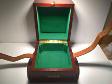 ULTRA  RARE VINTAGE ULYSSE NARDIN LE LOCLE CHRONOMETER BOAT CLOCK OUTER BOX