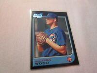 1997 BOWMAN BASEBALL KERRY WOOD ROOKIE CHICAGO CUBS CARD  #196  G1613
