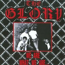 We Are What We Are/Skins 'N' Punks * by The Glory (Oi) (CD, Feb-2009, 84 (USA))