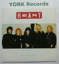 "HEART - Who Will You Run To - Excellent Condition 7"" Single Capitol CL 457"