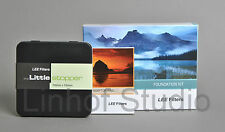 KIT FILTRI Lee con 77 mm Foundation Wide Angle Anello Adattatore e tappo Piccolo
