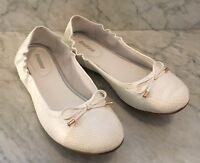 BALLERINAS weiß Graceland Damen Schuhe Tanzschuhe Gr. 38 wie neu