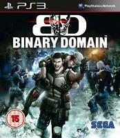 Binary Domain (Sony PlayStation 3) PS3 Game NEW