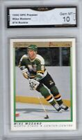 GMA 10 Gem Mint MIKE MODANO 1990/91 OPC O-Pee-Chee Premier ROOKIE Card HOF!
