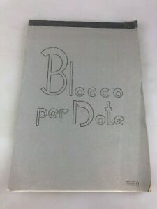 VINTAGE WRITING PAPER PAD - BLOCCO PER NOTE - FORMATO