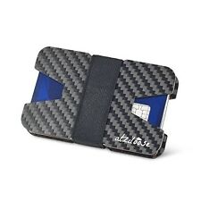 Slim Wallets for Men Carbon Fiber RFID Blocking Wallet Credit Card Holder