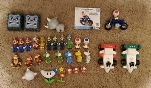 Super Mario Knex Lot Luigi Yoshi Koopa Donkey Kong Boo Toad Mario Kart Wii