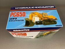 Komatsu PC650 Hydraulic Excavator 1:50 Scale