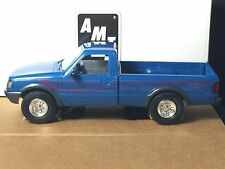 AMT/Ertl #6290 1994 Ford Ranger STX 4x4 Blue 1:25 Plastic Promo Car Replica MIB