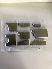 Lot 6 Steel Moulding Knives 8 Sets Lock Edge Knives Shaper Profiles Door Edge