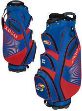 Team Effort The Bucket II Cooler NCAA Collegiate Golf Cart Bag Kansas Jayhawks