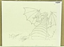 Don Bluth Dragons Lair ORG Animation HandDrawn Sketch From Scene DRAGON COA 9-42