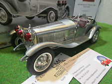 ALFA ROMEO  6C 1750 GRAND SPORT de 1930 gris aul 1/18 CMC M142 voiture miniature
