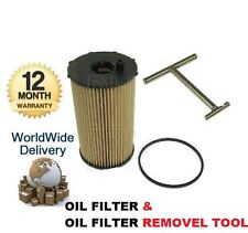 FOR JAGUAR S TYPE XF XJ LAND ROVER DISCOVERY 2.7 04-> OIL FILTER & REMOVAL TOOL