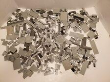 LEGO LOT OF BULK BRICKS GRAY BUILDING BLOCK PARTS 2 LB