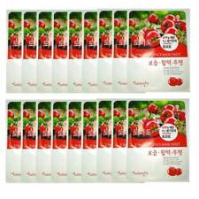 18pcs TOMATO ESSENCE MASK SHEET KOREAN COSMETICS FACIAL PACK SKIN CARE