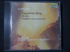 Copland: Fanfare, Rodeo & Appalachian Spring [Audio CD] Lane/ASO