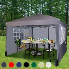 More details for mcc® 3 x 3 m pop up gazebo waterproof outdoor garden marquee canopy ws