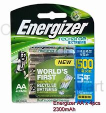 Energizer AA x8 NiMH 2300mAh rechargeable batteries Made in Japan Free tracking