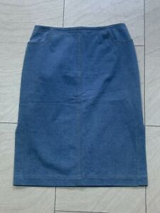 Escada Women's Denim Skirt Size 38