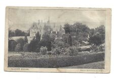 Vintage postcard Glorat House, Milton of Campsie, Stirling. pmk Glasgow 1906