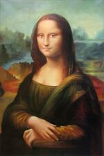 Quality Hand Painted Oil Painting Repro Leonardo da Vinci Mona Lisa 24x36in