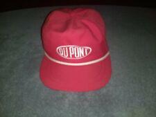 Vintage Dupont Rope Front Strapback Baseball Cap Hat