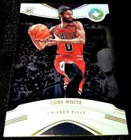 COBY WHITE 19-20 OPULENCE HOLO GOLD PARALLEL ROOKIE RC BULLS 1/10 1ST CUT 1/1