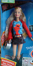 2006 BARBIE LOVES TICKLE ME ELMO TMX ELMO DOLL BOX NEW NRFB