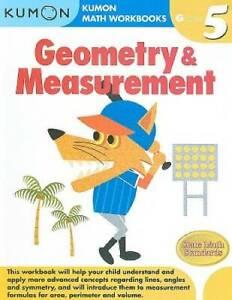 Geometry & Measurement (Kumon Math Workbooks Grade 5) - Paperback - GOOD