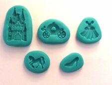 Princess Cenerentola Stampi in Silicone Sugar Craft Cioccolato Decorazioni Per Cupcake Decorazione