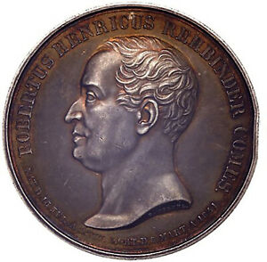 Russia Finland Court Rehbinder Large Silver Medal