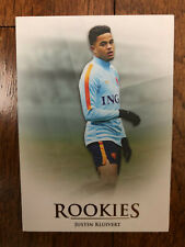 2018 Futera Unique Football Soccer Card Holland JUSTIN KLUIVERT  Rookie