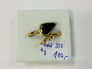 Ring, Gold 333, 4g, Ringgröße 54   (43960)