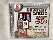 Rare Essentials Country Music Hits From The 80's 2 CD Set Legacy Import   cd5258