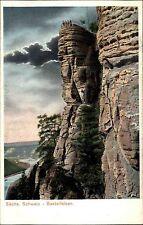 Sachsen ~1900/10 Sächsische Schweiz Bastei-Felsen Berg Verlag Schmuck Hirschberg