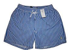 Badeshorts NEUW Ralph Lauren Gr. L Blau-weiß Streifen