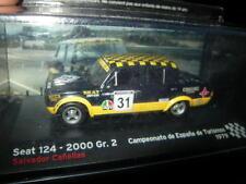 1:43 Ixo Seat 124 2000 Gr.2 Salvador Canellas Espana 1979 #31 VP