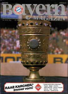 BL 83/84 Bayern München - Bayer Uerdingen, 26.05.1984 - Vorschau DFB-Pokalfinale