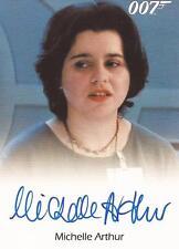 """James Bond Archives 2014 - Michelle Arthur """"Anna"""" Autograph Card"""
