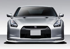 09-11 Fits Nissan GT-R R35 Eros Version 5 Front Lip 1pc Body Kit 109066