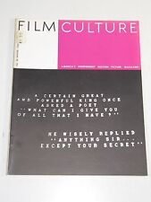 Film Culture Magazine- #26 Winter 1962