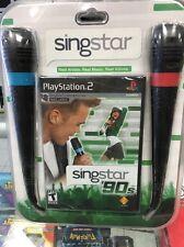 Singstar 90'S Bundle PlayStation 2 Original Factory Sealed