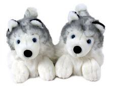 Husky Animal Slippers - Siberian Husky Dog Slippers - for Men & Women