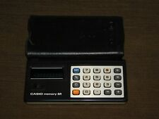 VINTAGE OFFICE DESK CASIO MEMORY-8R CALCULATOR