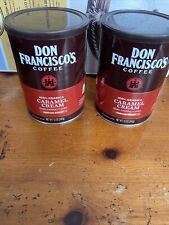 New listing Don Francisco's Ground Caramel Cream Flavored Coffee 12oz 2-Pack